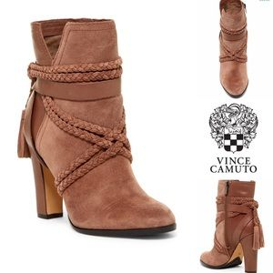 VINCE CAMUTO - Cyndia Braided Tassel Boot✨🍂
